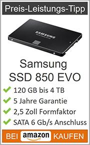SSD Festplatte Preis-Leistungs-Tipp