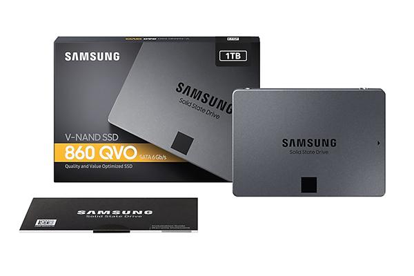 Samsung SSD 860 QVO Lieferumfang Ausstattung