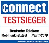 Auszeichnung Telekom Testsieger