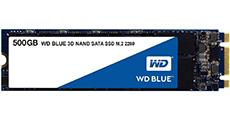 WD Blue 3D NAND SATA SSD M.2