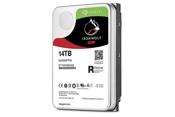 Seagate IronWolf HDD Festplatten