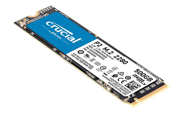 Crucial P2 M.2 2280 NVMe PCIe SSD