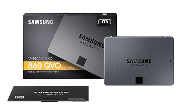 Samsung SSD 860 QVO 2,5 Zoll SATA SSD