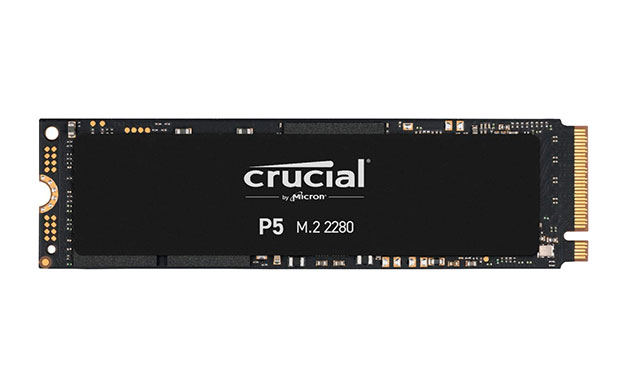 Crucial P5 M.2 NVMe SSD