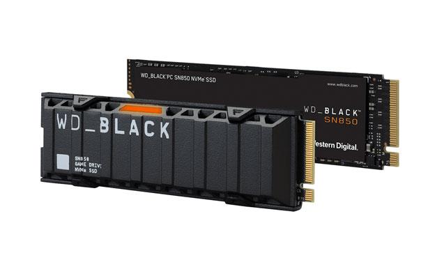 Western Digital WD Black SN850 NVMe SSD M.2 2280 PCIe 4.0