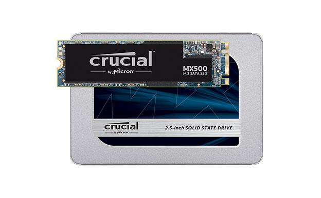 Crucial MX500 2,5 Zoll M.2 SATA SSD