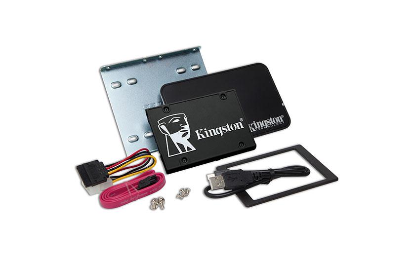 Kingston KC600 2,5 Zoll SATA SSD Upgrade Kit
