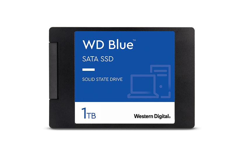 WD Blue SATA SSD 2,5 Zoll