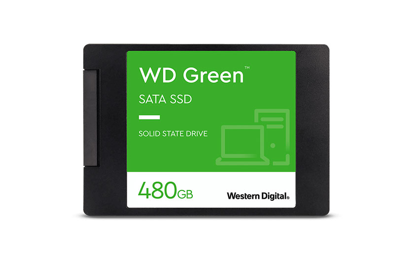 WD Green SATA SSD 2,5 Zoll