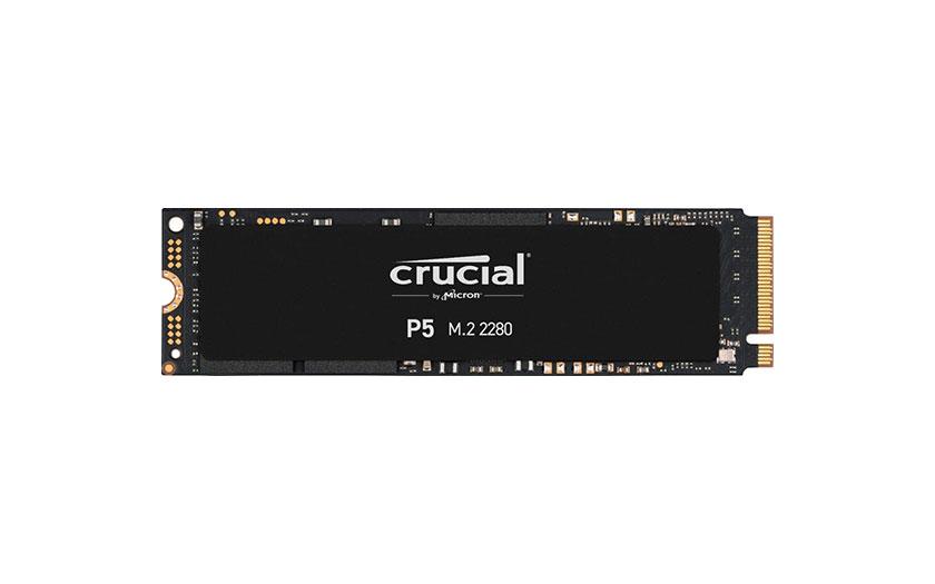 Crucial P5 M.2 NVMe PCIe 3.0 SSD